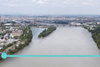 Site of New Danube Bridge