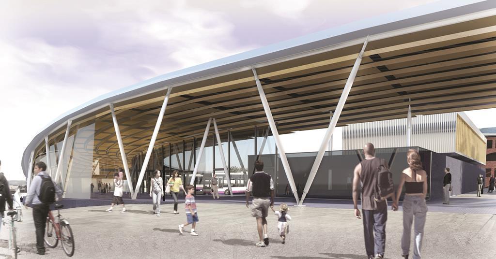 Grimshaw S City Centre Bus Station For Stoke On Trent