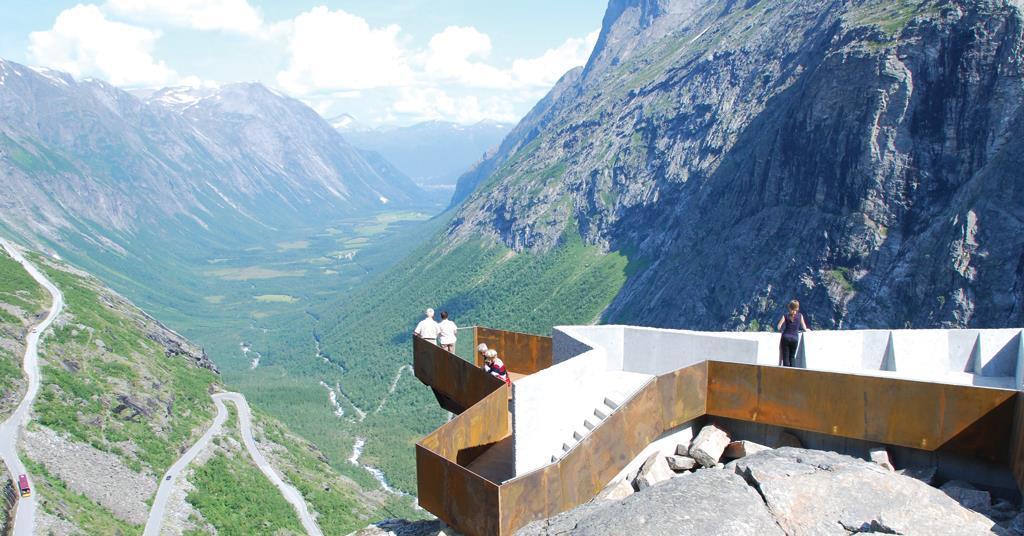 Trollstigen National Tourist Route By Reiulf Ramstad