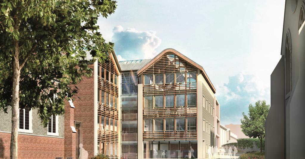 Hopkins Starts Work At Brighton College News Building