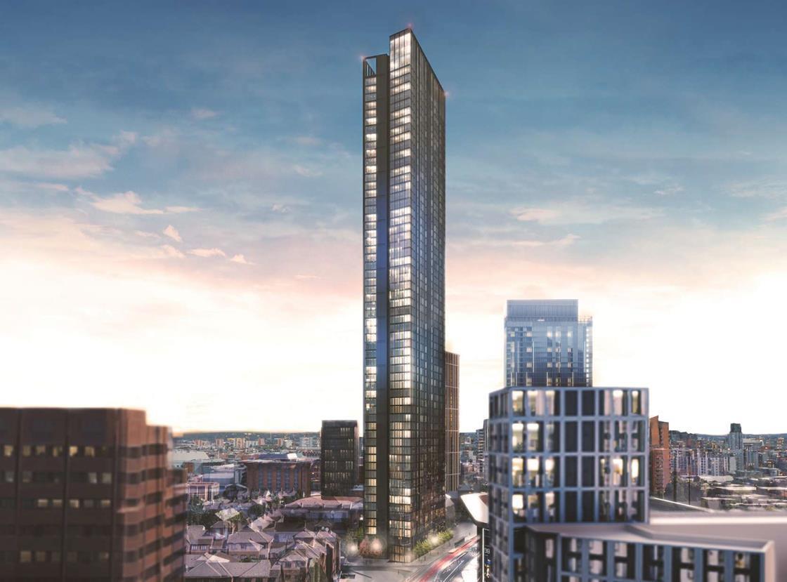 Glancy Nicholls Sets Sights On Birmingham S Tallest Tower