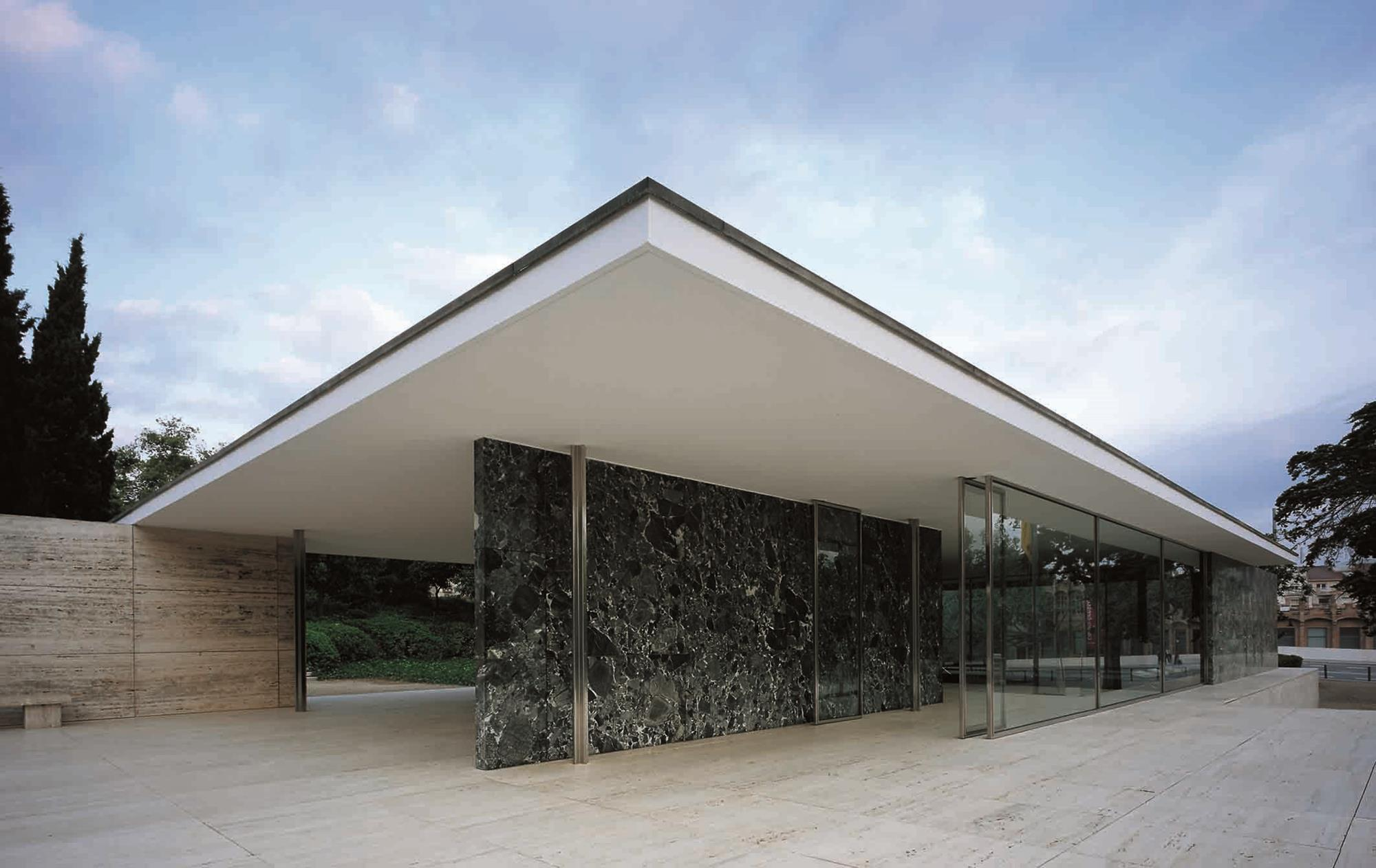 Keith Williams Inspiration The Barcelona Pavilion By