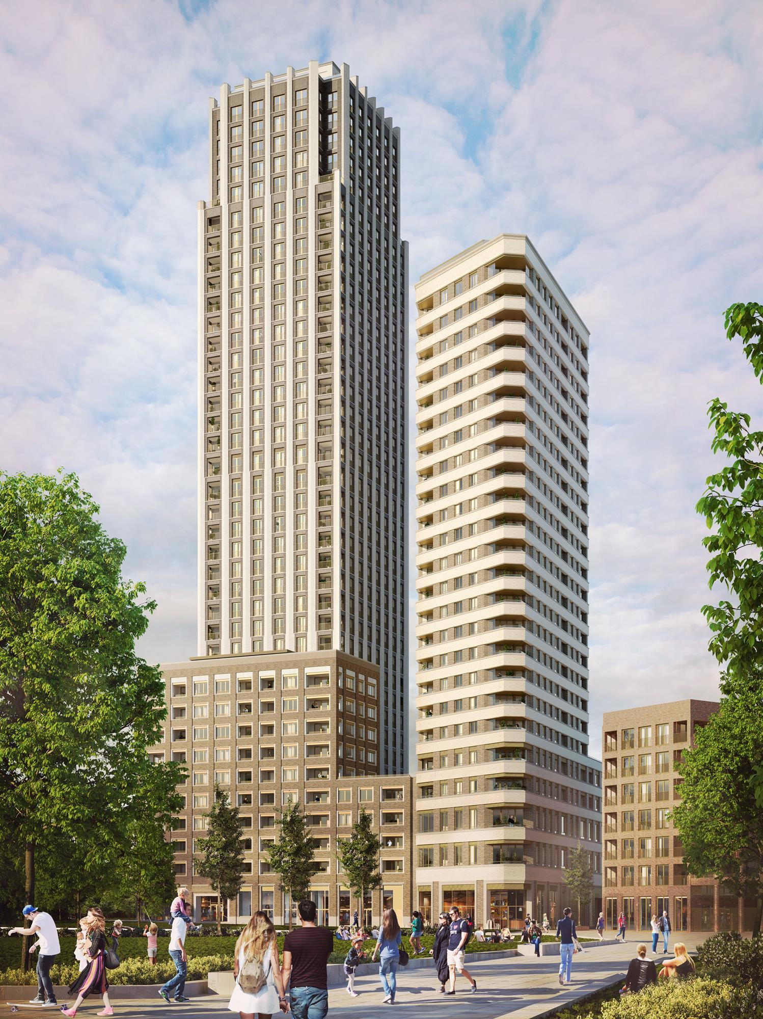 Maccreanor Lavington Submits Old Kent Road Tower News