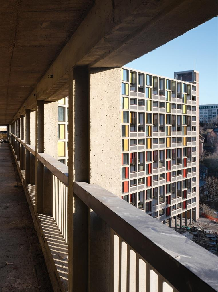 Park Hill Estate Sheffield By Hawkins Brown With Studio