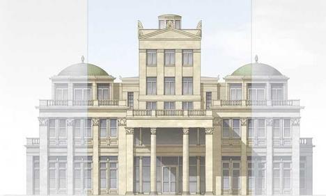 Fancy Robert Adam us plans for Hampstead Heath mega mansion thrown out News Building Design