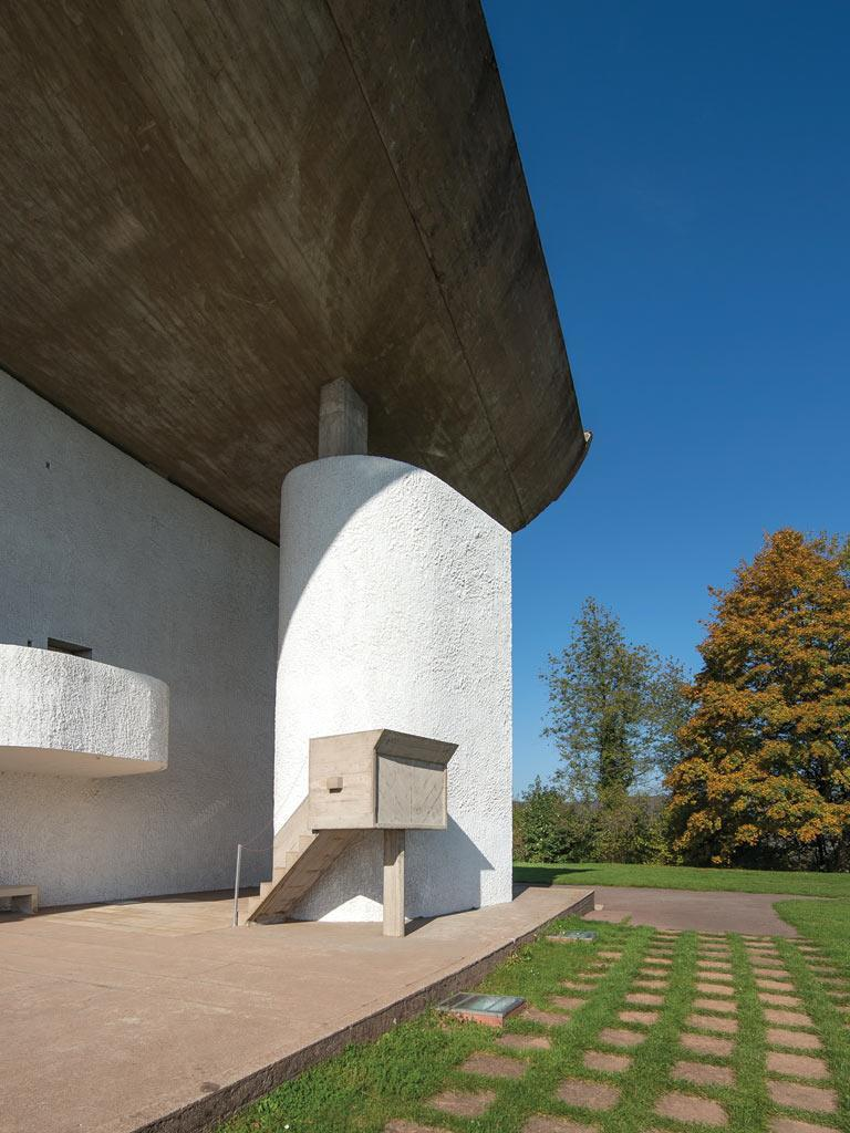 Ted Cullinan S Inspiration Chapel Of Notre Dame Du Haut