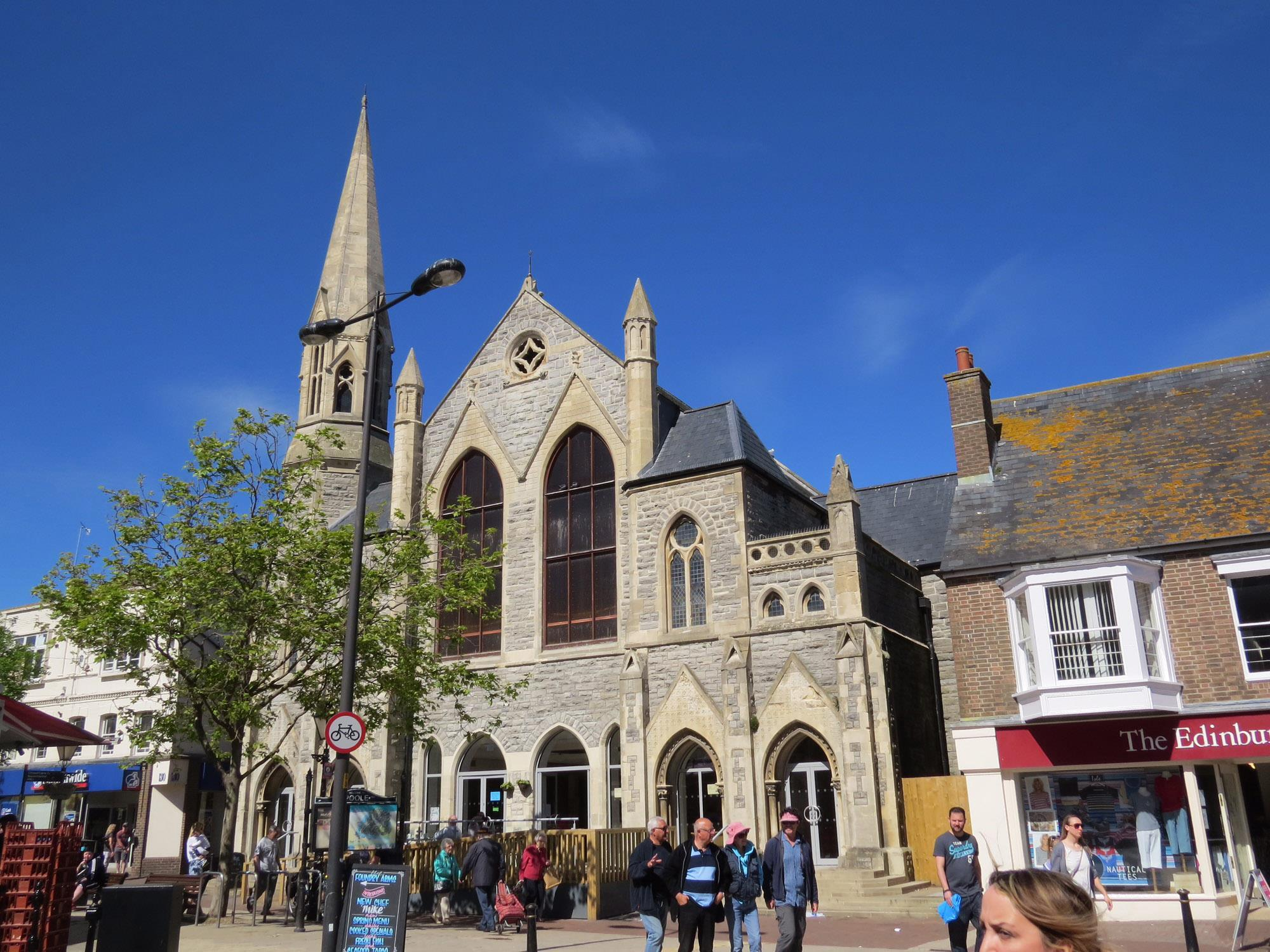 Carbuncle Cup Poole Methodist Church Extension By