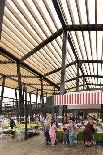 Wakefield Market Hall Stays Simple News Building Design