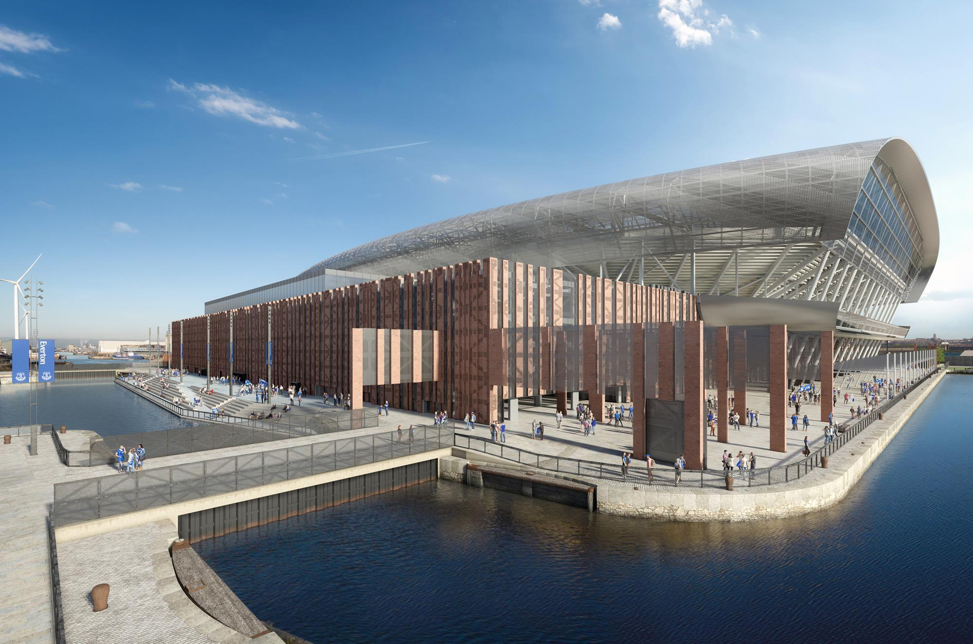 Pattern and Meis submit Everton stadium plans | News ...