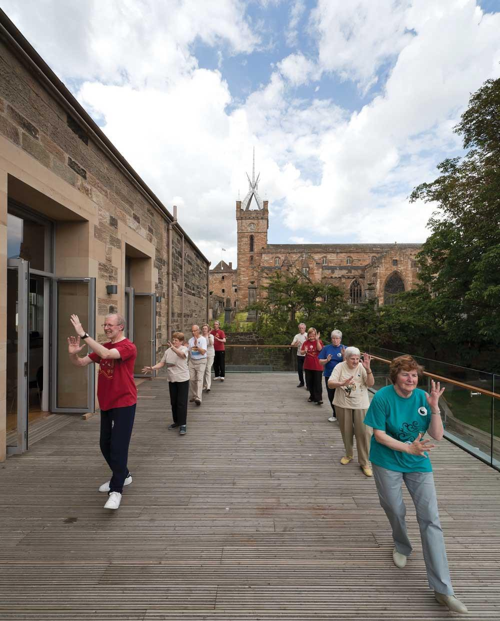 Linlithgow Burgh Halls In West Lothian, Scotland, By