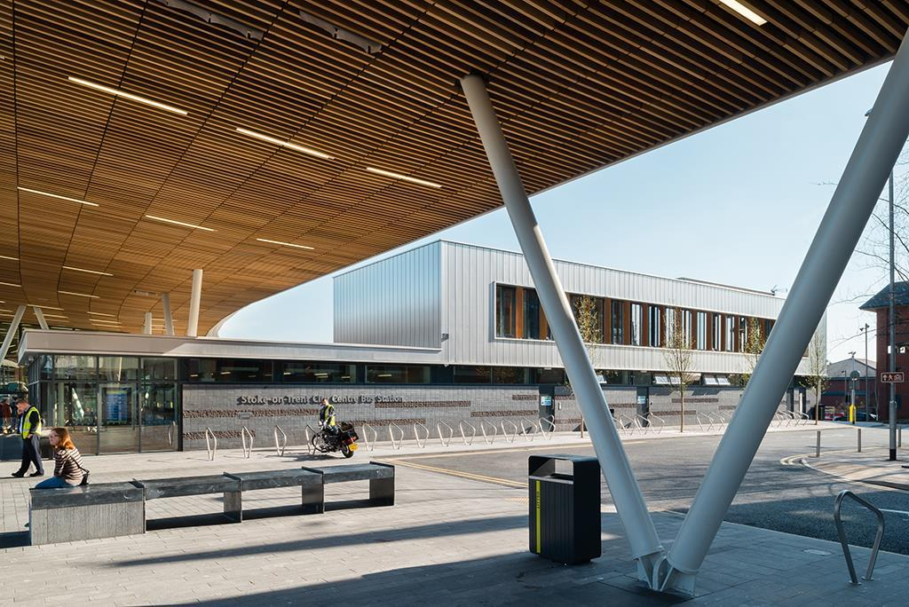 Stoke On Trent Bus Station By Grimshaw Architects