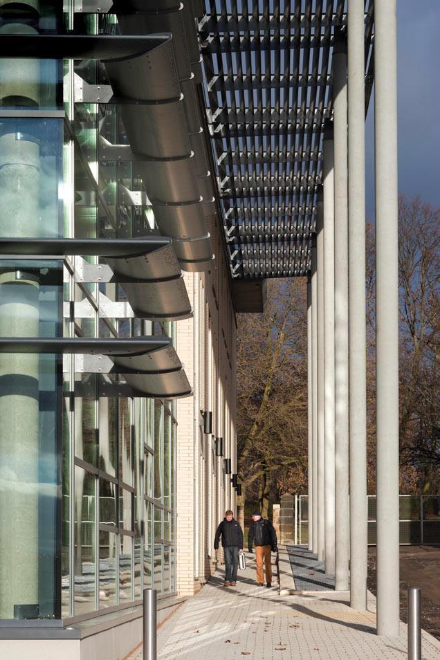 Spun Concrete Columns Technical Building Design