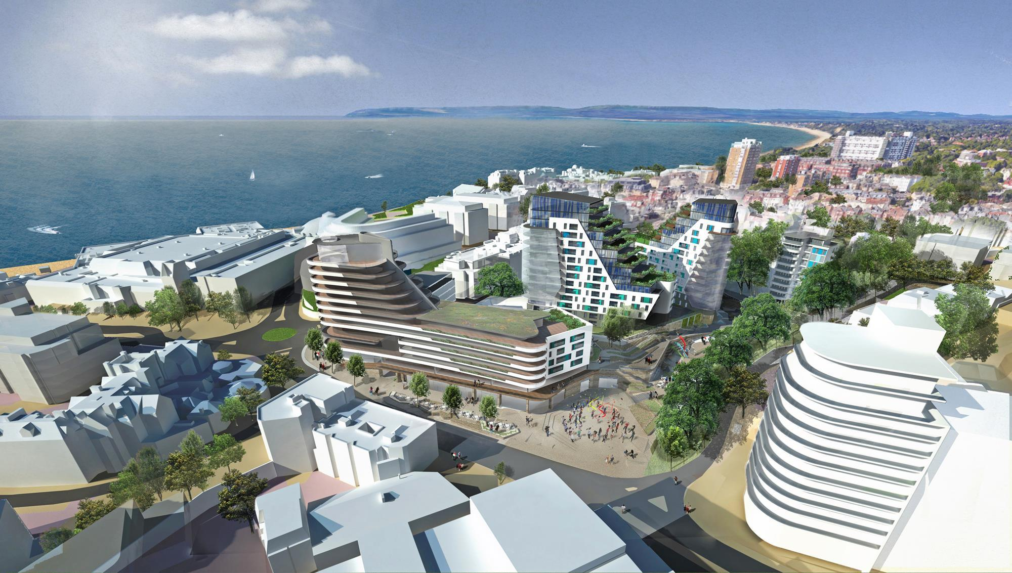 bournemouth unveils winter gardens plan news building design