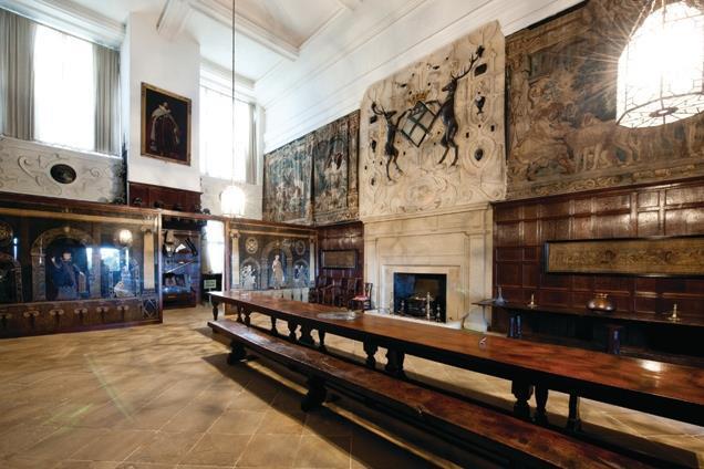 Sergison Bates Inspiration Hardwick Hall In Derbyshire