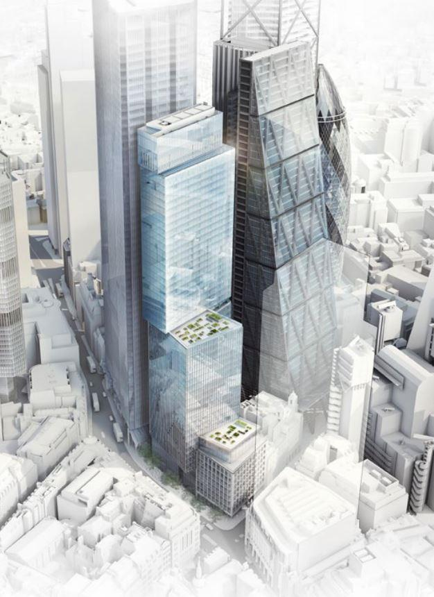 Wilkinson Eyre Gets Go Ahead For Supersized Bishopsgate
