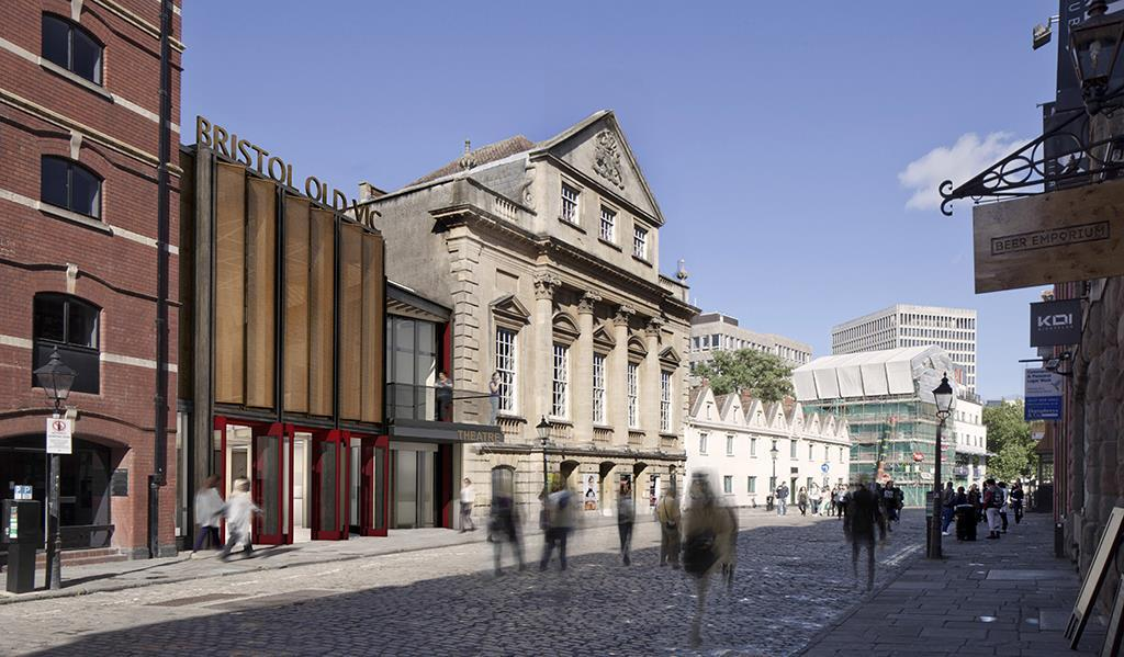 Haworth Tompkins Submits Bristol Old Vic Plans News