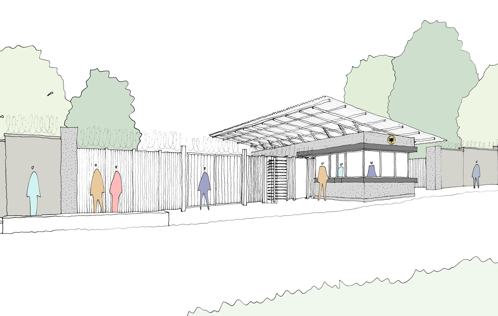 Manser Practice wins German embassy competition | News