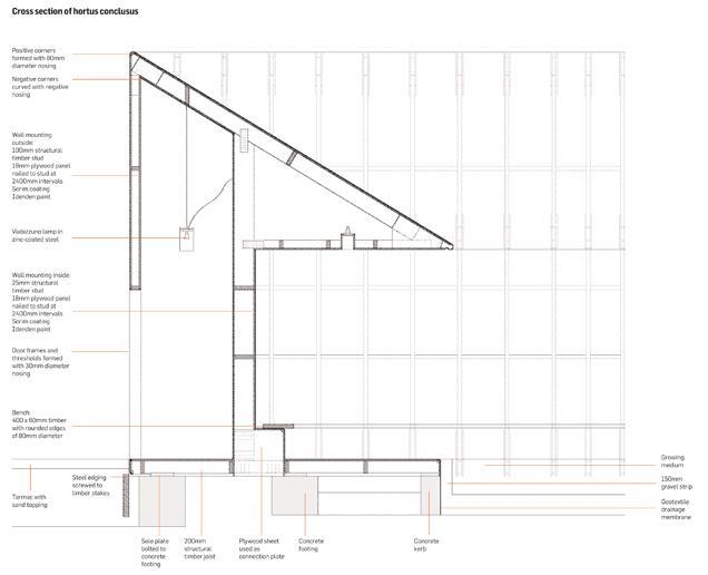 Serpentine Gallery Pavilion By Peter Zumthor Technical