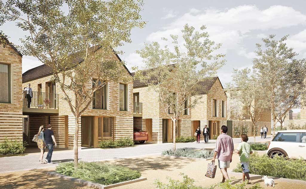 Maccreanor Lavington Unveils Barnet Housing Scheme News