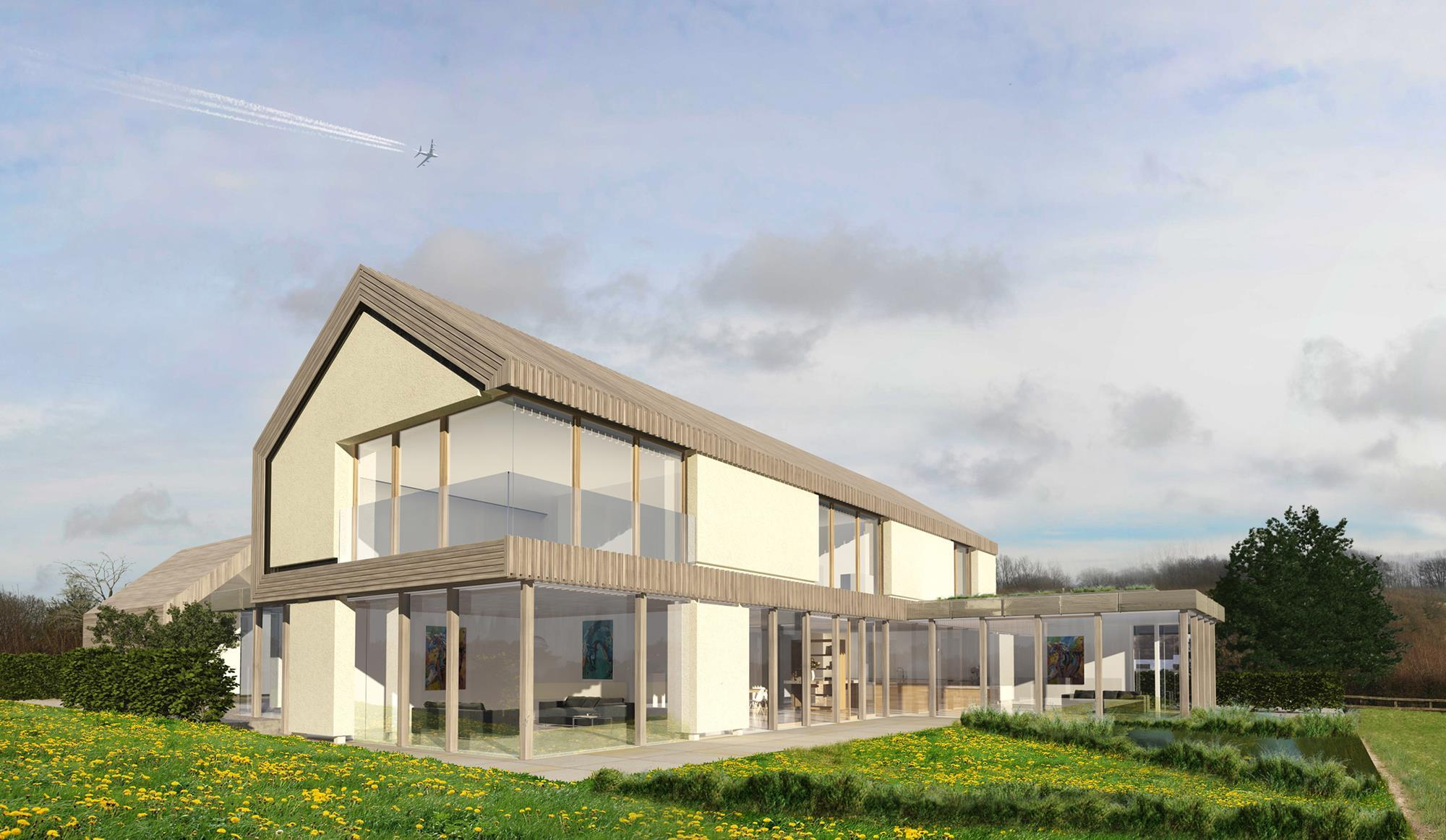 hawkes architecture finally gets eco house ok news