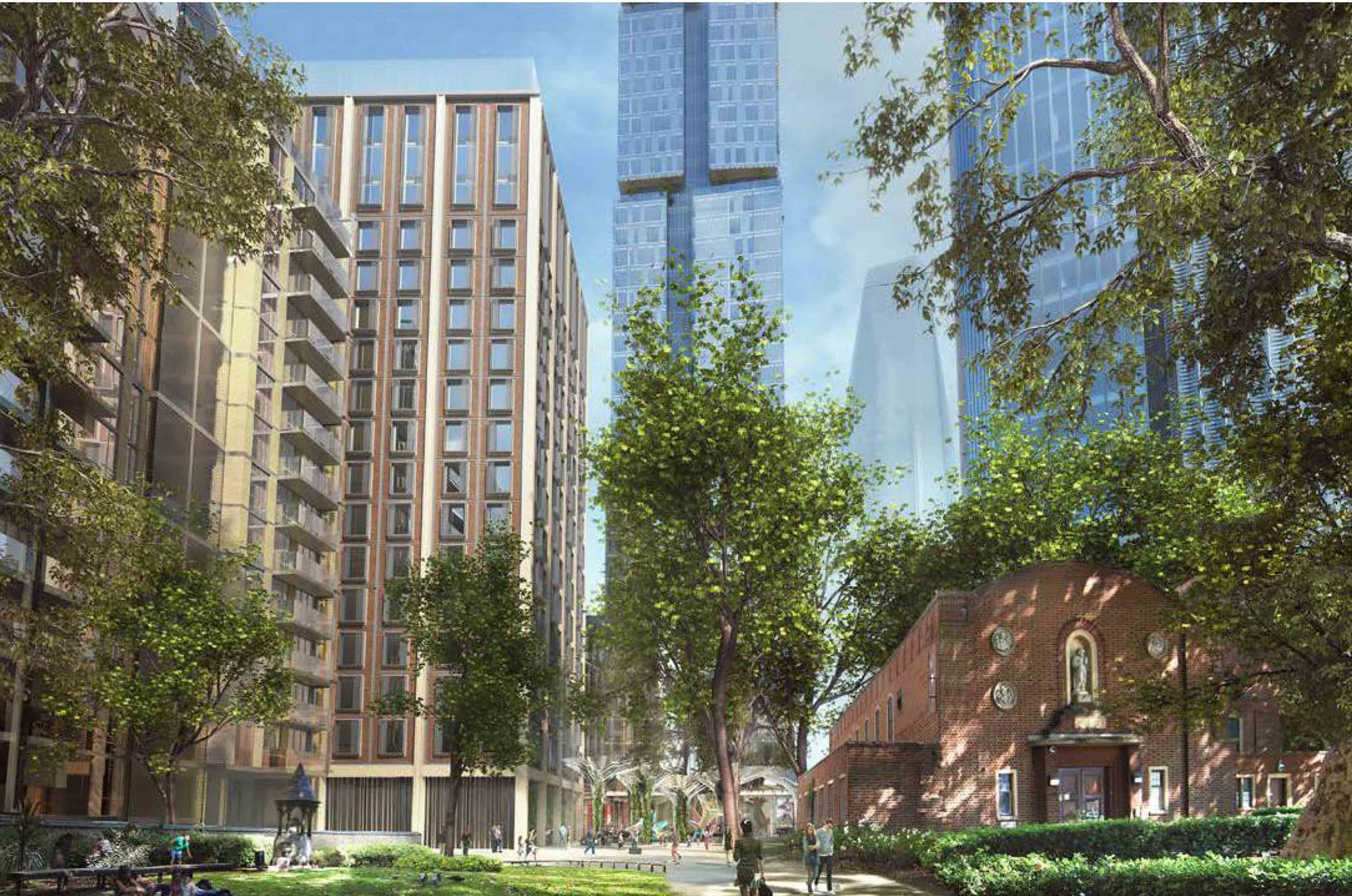 Wilkinson Eyre set to bag planning for Blackfriars Bridge tower