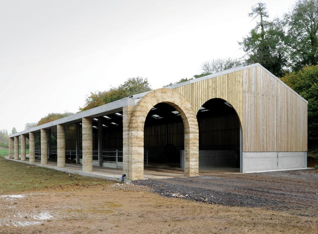 Shatwell Farm Cowshed, Somerset By Stephen Taylor