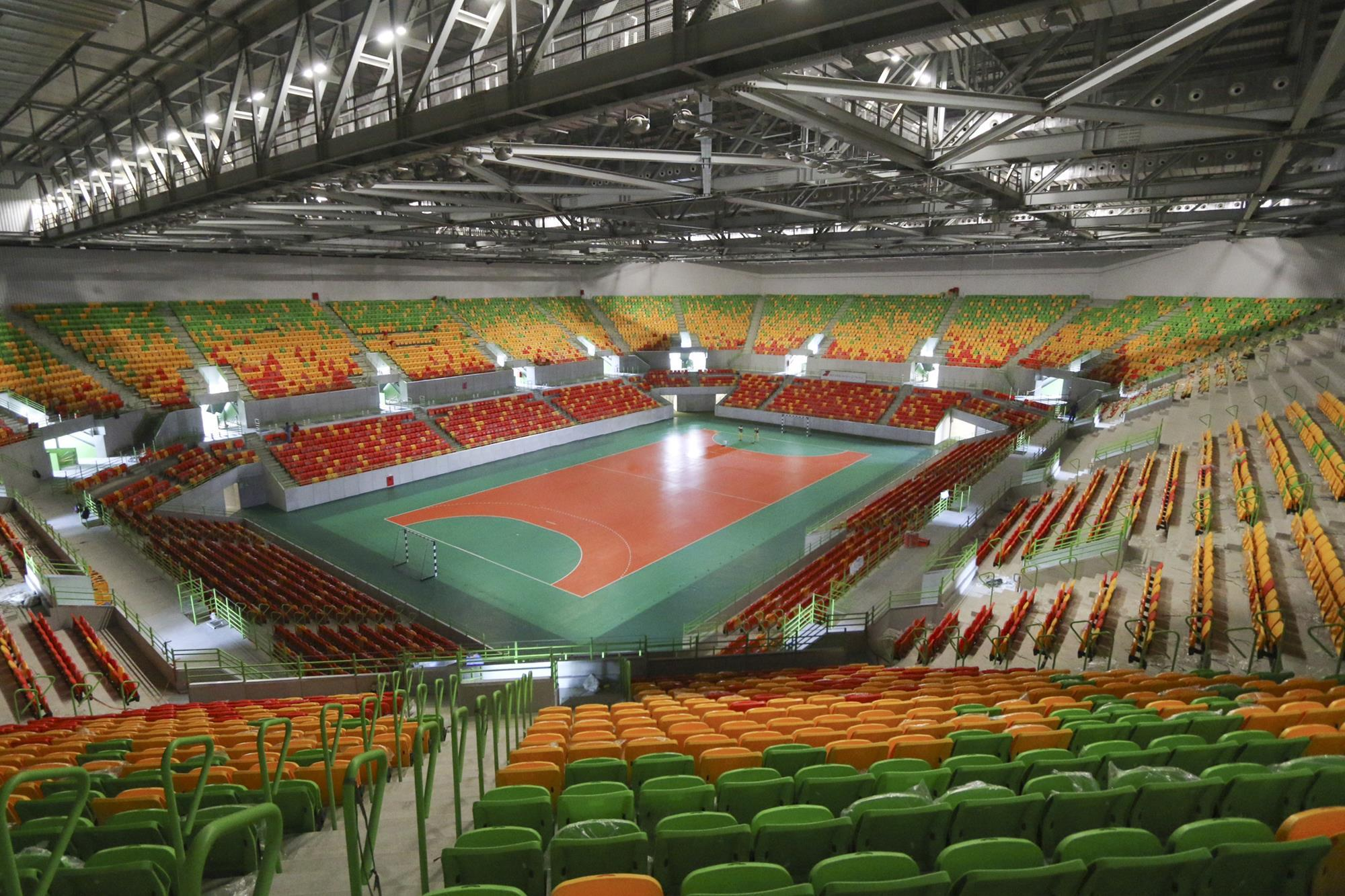 Education stadia and arenas sports and leisure healthcare residential - Andarchitects Showcases Nomad Olympics Arena News Building Design