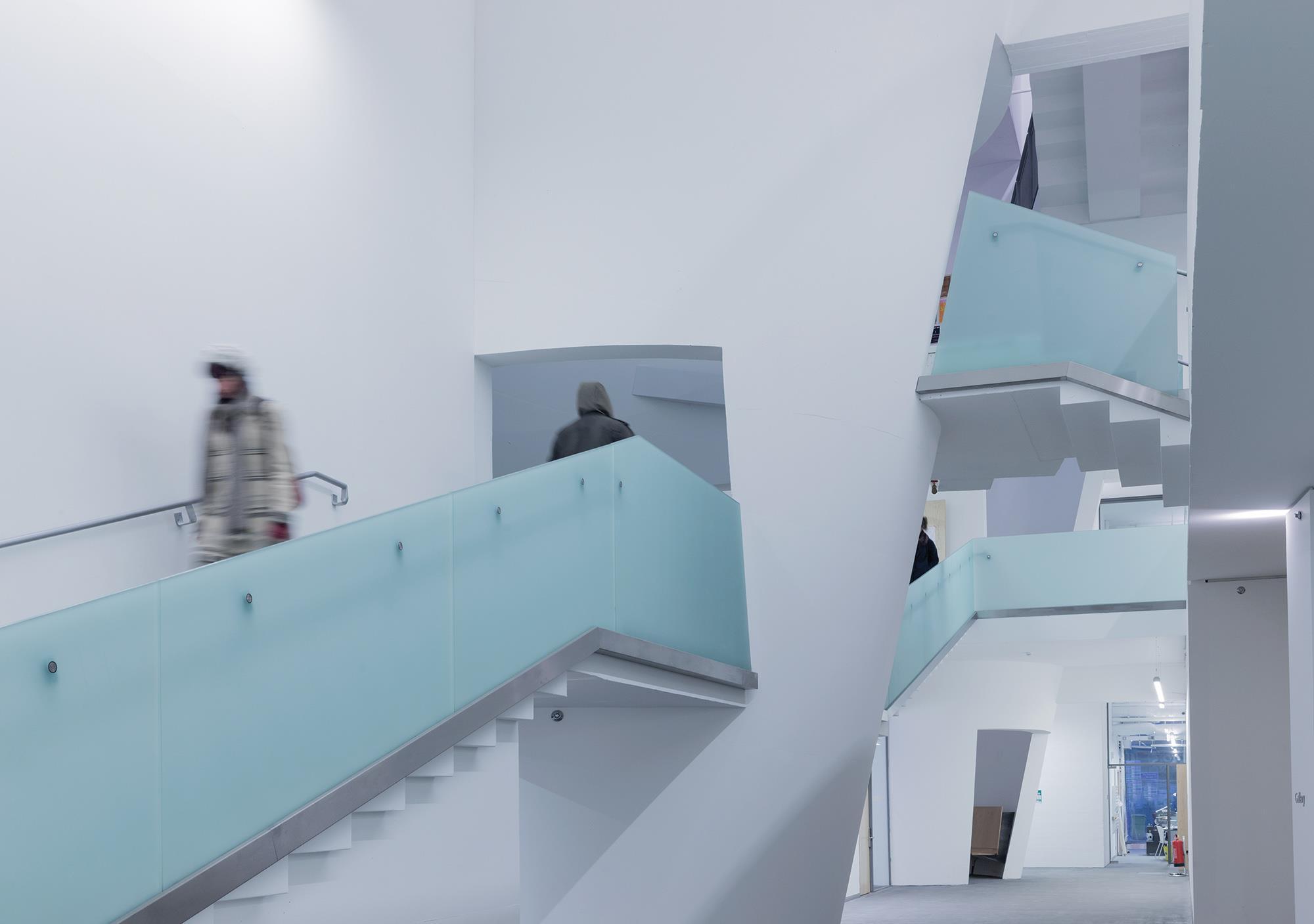 Reid Building Glasgow School Of Art By Steven Holl