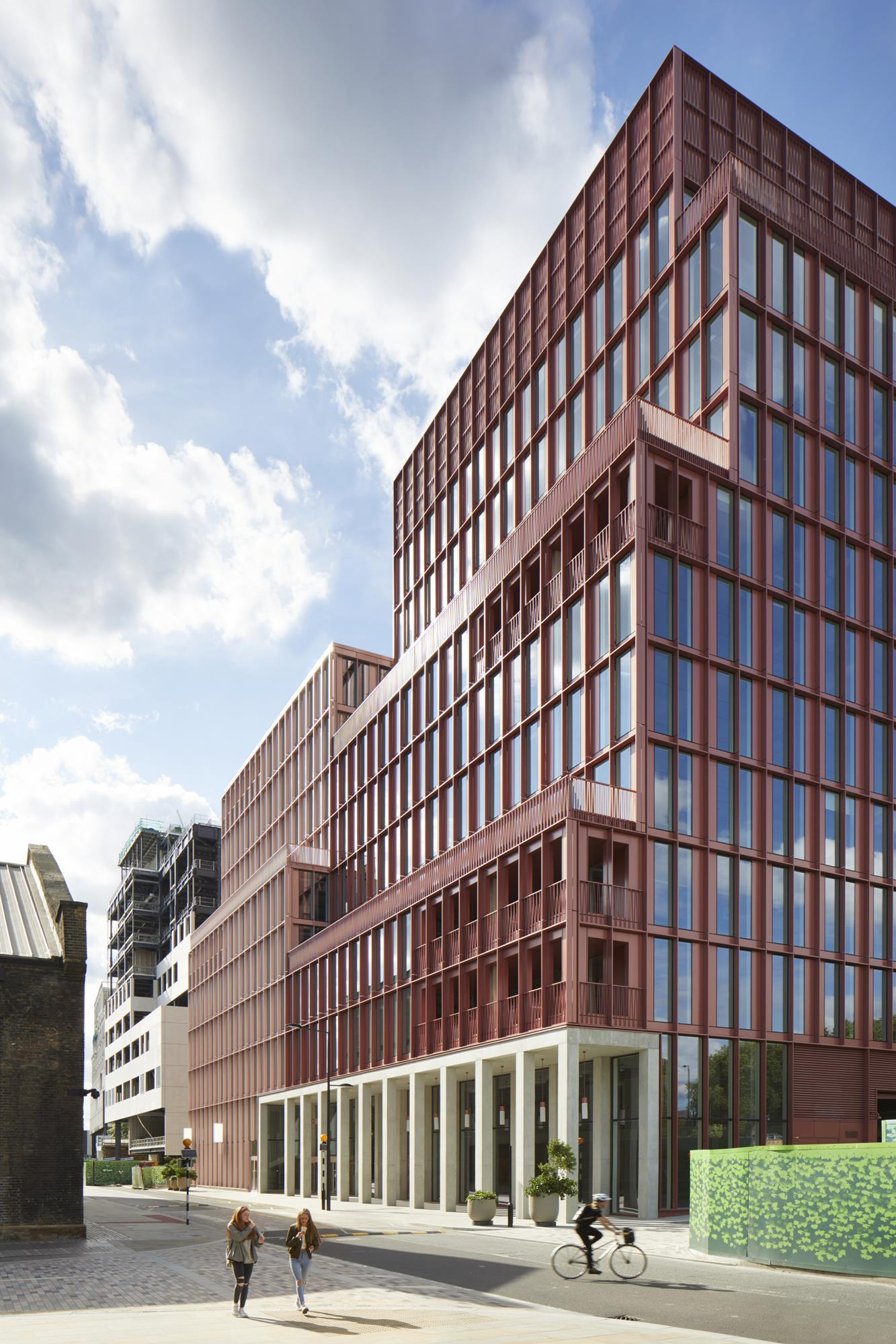 Building Study R7 King S Cross By Duggan Morris