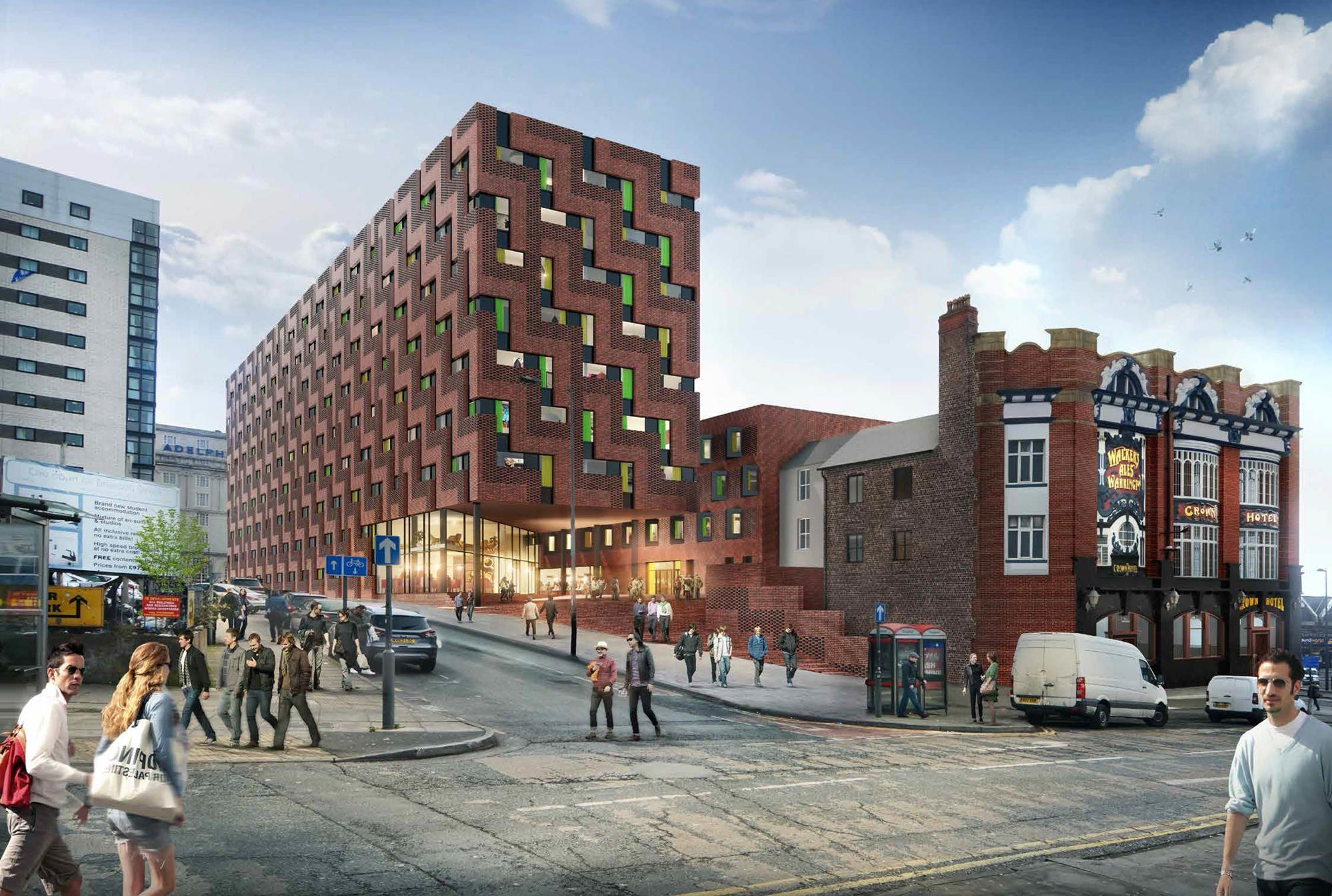 Heritage group attacks broadway malyan liverpool scheme for Broadway malyan