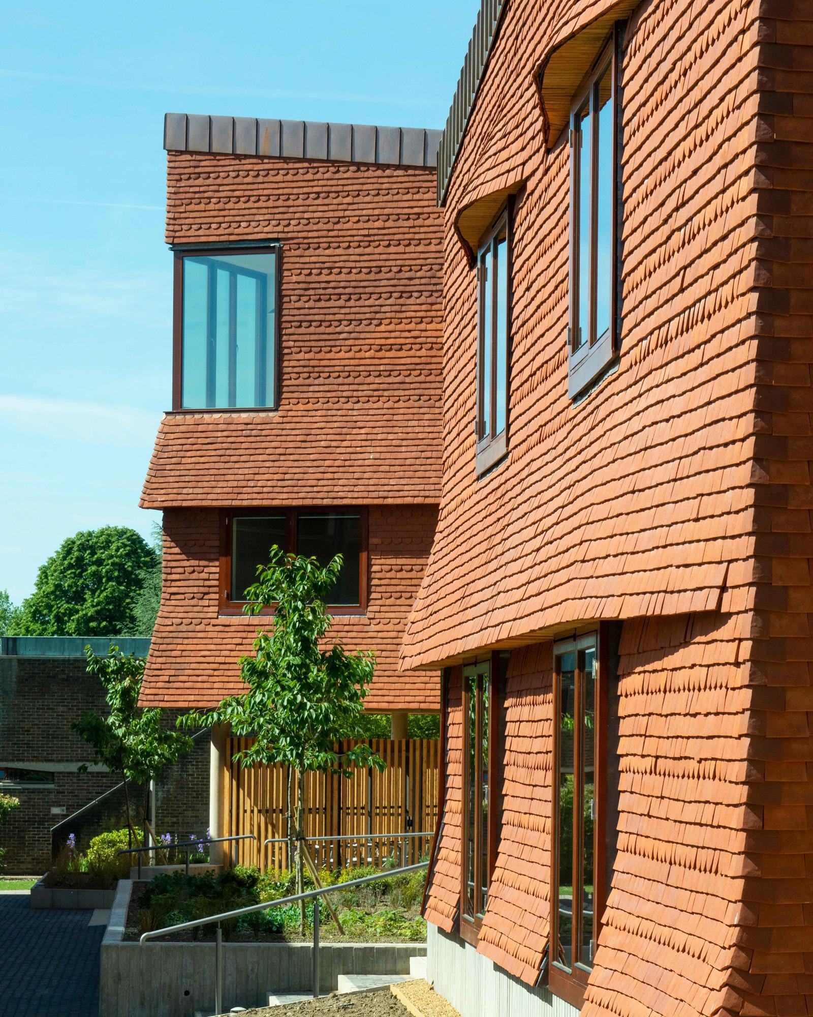 College Apartments: Building Study: Churchill College Housing, Cambridge, By