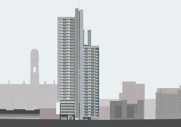 Great Marlborough Street Student Housing In Manchester By Hodder Partners