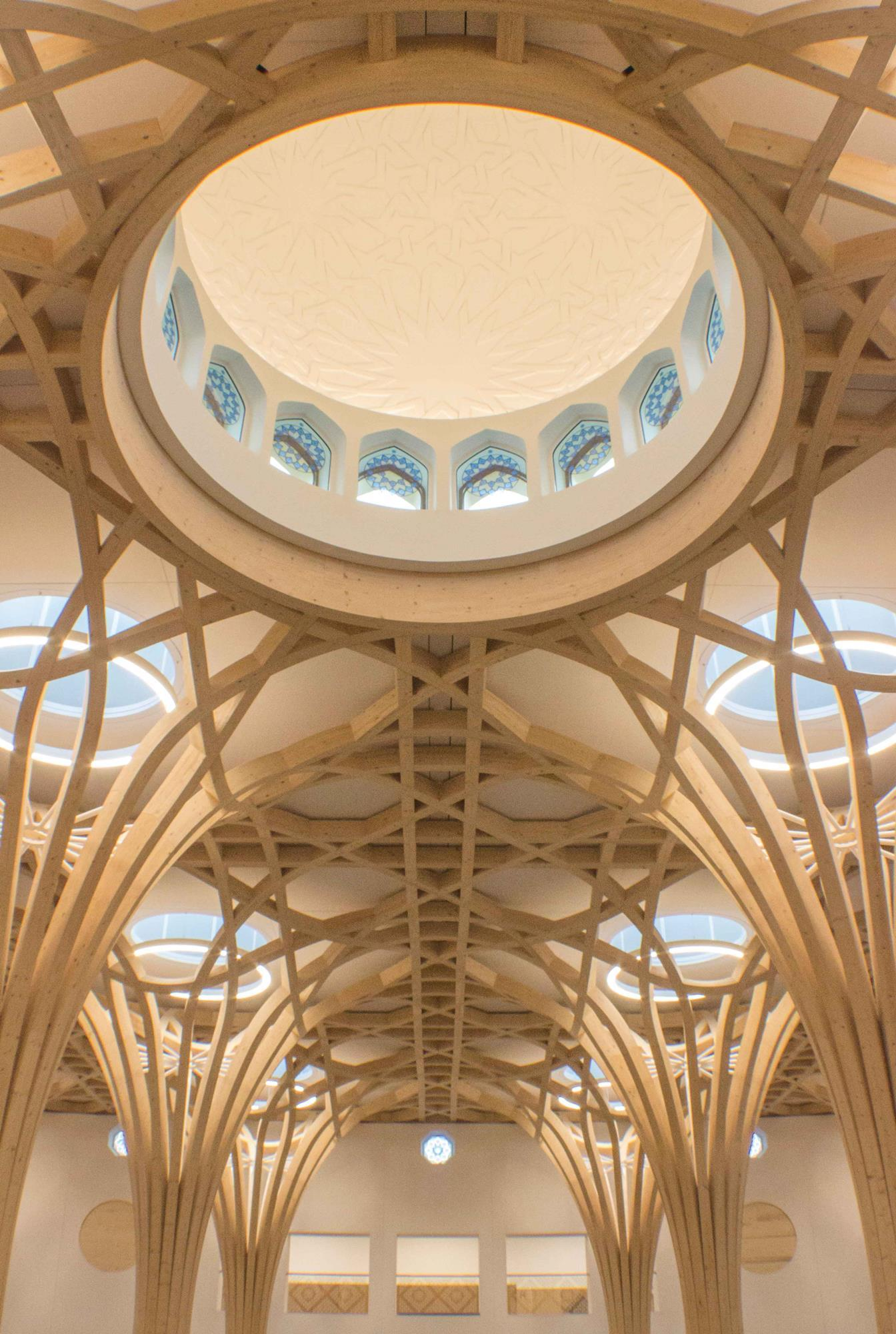 Marks Barfield Completes Cambridge New Mosque News