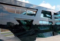 Sto glass panels shapes