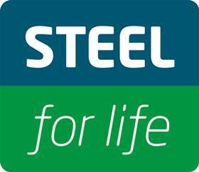 Steel for life logo