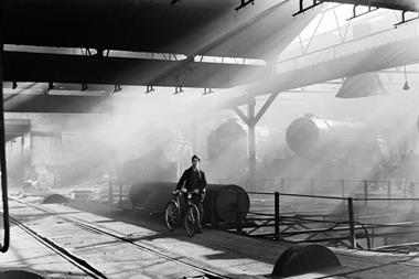 York engine shed 1950