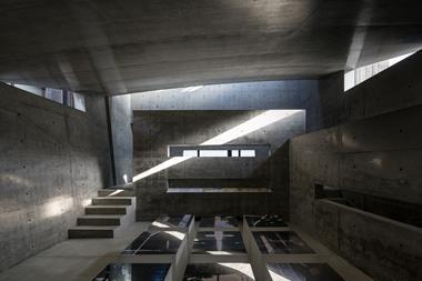 Tadao Ando's Ando Museum in Naoshima, Japan