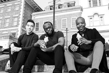 West Port & Company founding partners: Left to right Colin Cheng, Shaun Ihejetoh and Khalifa Abubakar