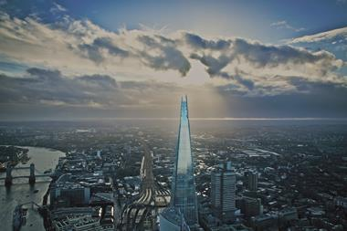 Renzo Piano Building Workshop: The Shard and the London skyline in 2012