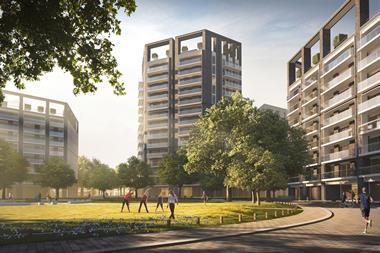 PRP's Clapham Park site