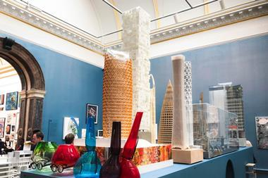 Royal Academy Summer Exhibition architecture room by Piers Gough_pic_Michael Collins  (8)