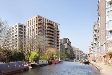 Bennetts Associates'  'Ugly Brown Building' scheme in Camden, north London
