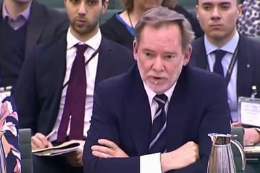UK chief trade negotiator Crawford Falconer appears before parliament's Public Accounts Committee