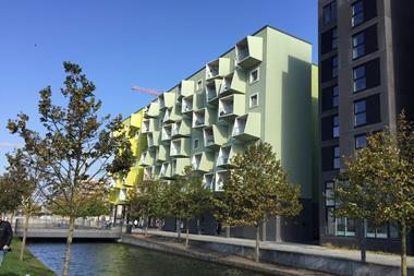 Orestad retirement home, Copenhagen, designed by JJW Arkitekter