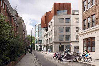 Penoyre & Prasad's Cleveland Street scheme for Birkbeck