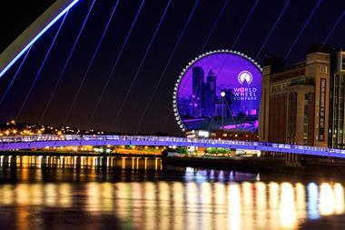 The Whey Aye will be 140m high, making it Europe's tallest observation wheel