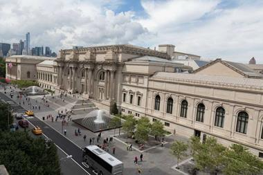 The Metropolitan Museum of Art on Fifth Avenue, New York