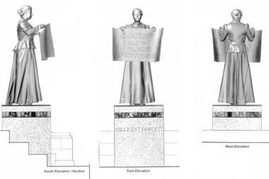 Fawcett statue 2