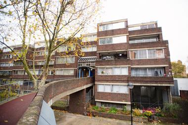 Lancaster West Estate in Ladbroke Grove