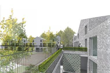 Tom Russell Architectsu0027 RIBA Competition Winning Retirement Housing Design Part 96
